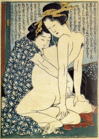 Японская эротика сюнга