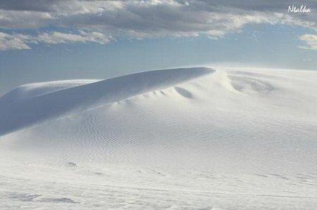 Уникальная пустыня белых песков