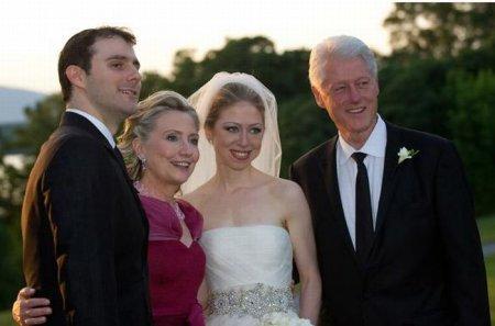 Свадьба в семье Клинтонов