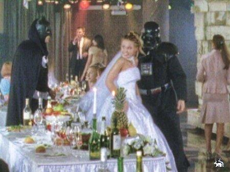Свадебный прикол