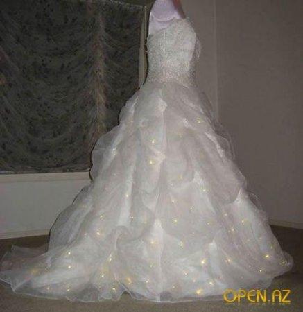 Сверкающий наряд для невесты