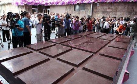 Самая большая шоколадка в мире