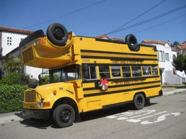 Автобус-перевертыш