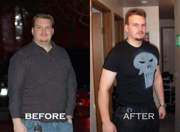 Мотивирующие фотки До и После
