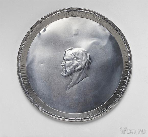 Медаль из фольги своими руками