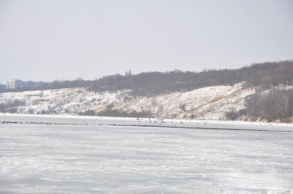 Леденящее Черное море