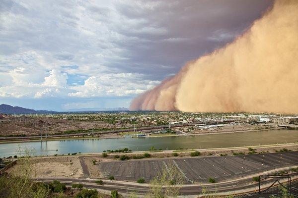20 самых впечатляющих фотографий песчаных бурь